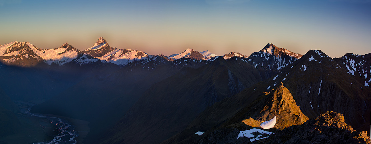 Dragonfly Peak & Mt Aspiring